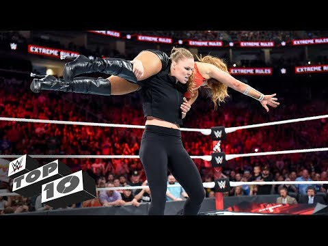 Amazing ringside rescues: WWE Top 10, July 21, 2018