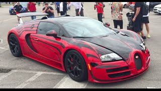 GoldRush Rally 2016 feat. Bugatti Veyron Grand Sport Vitesse LOr Rouge