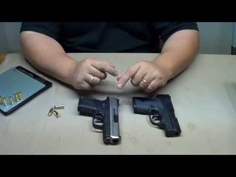 XDs 9mm vs Beretta Nano: Size & Feature Comparison