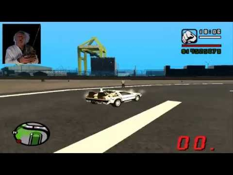 San Andreas - Regreso al futuro Delorean II