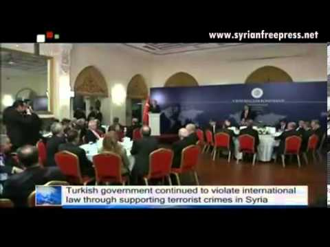Syria News 17.2.2013, Turkish government violating international law & supports terrorists crimes