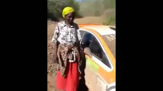 FUNNY! Kalenjin woman attempts explaining accident in English