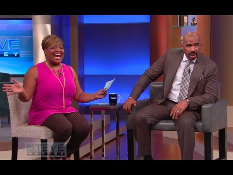 Sherri Shepherd's Wig Fashion Show || STEVE HARVEY