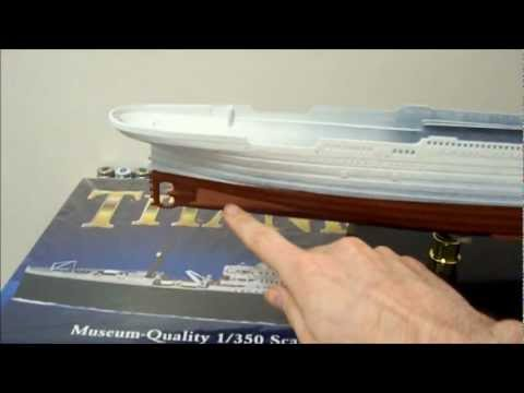 MINICRAFT Model R.M.S Titanic Centennial Edition 1/350  Part 2