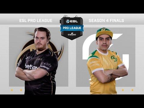 CS:GO - NiP vs. SK [Overpass] Map 2 - Semifinal ESL Pro League Season 4 - Day 4