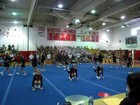 East islip 11 yr old cheer gravity competition 1st place for 7 eleven islip terrace