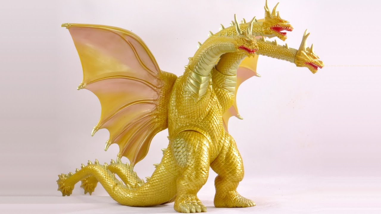 11 Inch Grand King Ghidorah Rreview From Godzilla Vs