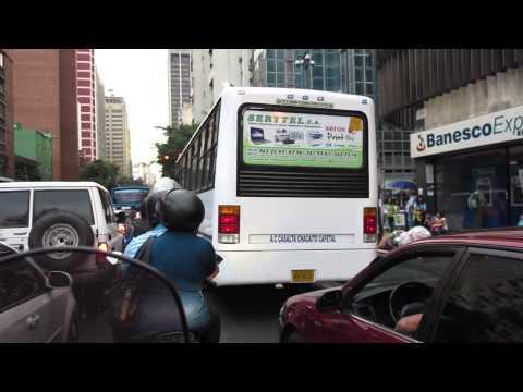 Caracas en Moto - Av. Urdaneta / Puente Fuerzas Armadas