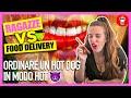 Ordinare un Hot Dog in Modo Hot - Ragazze VS Food Delivery - [Scherzi al telefon