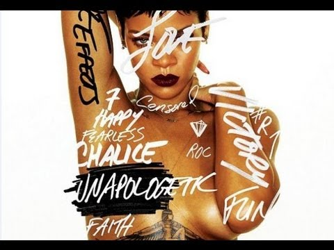 "Rihanna Topless Album Cover, Reveals Name ""Unapologetic"" Release Date"