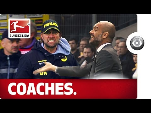 Guardiola and Klopp – Coaches With Emotion