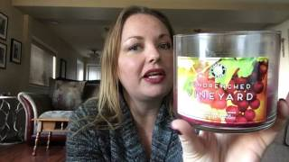 TBT: Candle Review of Sundrenched Vineyard 🍇🍷