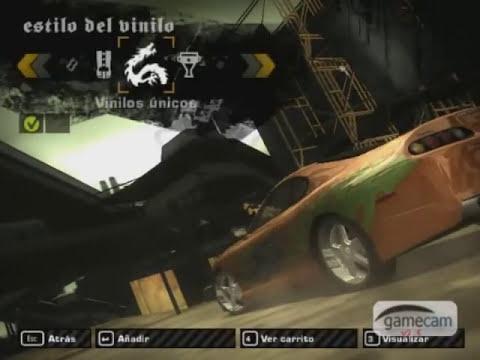 NFSMW - Toyota Supra De Brian (Rápido & Furioso)