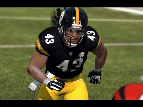 Madden 12 Online Gameplay - Troy Polamalu FTW!