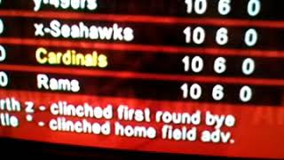 ESPN 2K5 NFL will screw you over on on franchise mode