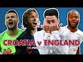 Croatia 2-1 England | England knocked OUT of the World Cup thumbnail