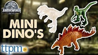 Jurassic World Mini Action Dino Blind Bag Codes - Dinosaur Figures Review | Mattel Toys