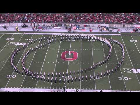 The Ohio State University Marching Band Performs Their Hollywood Blockbuster Show video