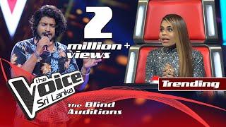 Thilina Sudesh Wanninayake - Mitwa | Blind Auditions  | The Voice Sri Lanka