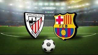 Athletic Club - Barcelona   full match Spain Copa del Rey 05.01.2017