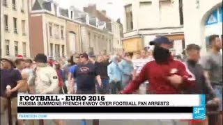 EURO 2016: Riot police charge and use tear gas on aggressive English football fans