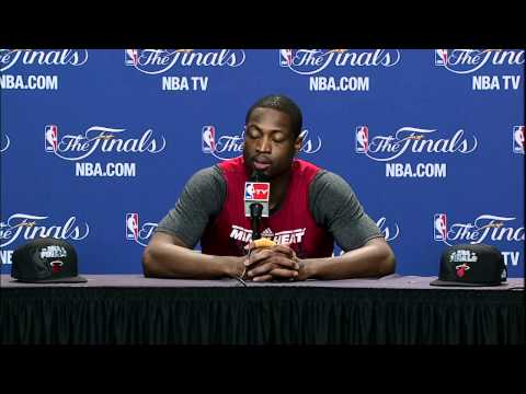 Dwyane Wade Talks about Game 5