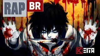 "🔴 Rap do Jeff The Killer ""Go To Sleep"" (Jeff The Killer/Creepypasta)l Kêita Beats"