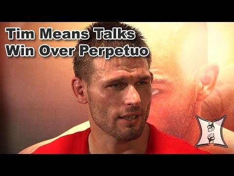 Tim Means Talks UFC ON FOX Win Over Hernani Perpetuo