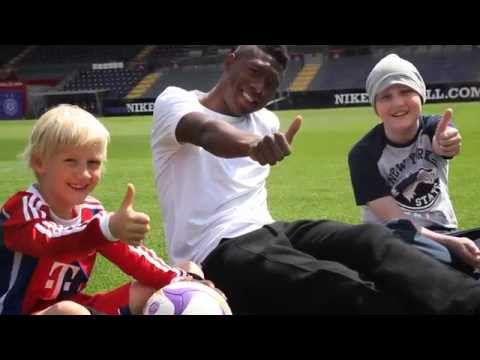 Meet and Kick mit David Alaba