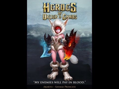 Heroes of Order & Chaos - Hero Presentation: Akartu, The Savage Princess