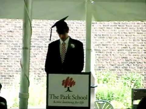 The Park School of Buffalo- 2012 Commencement- Jordan Heussler.mov