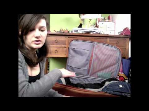 How to pack your suitcase properly