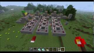 Minecraft 1.5, Sortieranlage, sorting machine