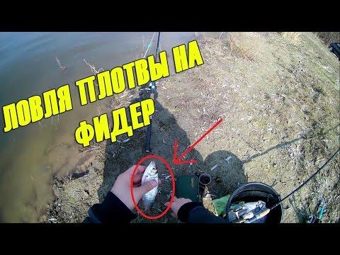 ловля плотвы на десне видео