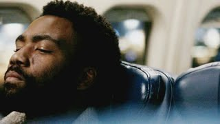 TSA airport scene Atlanta season finale 2x11