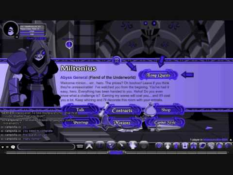 AQW Miltonius Character Page http://wn.com/AQW_How_to_get_to_Miltonius_and_beat_his_Shadow