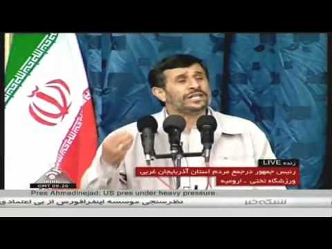 Ahmadinejad answers to Obama'sthreat