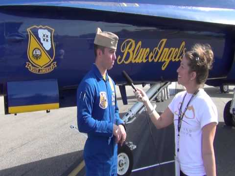 Blue Angels Interview - Sun 'n Fun, Lakeland FL 2014