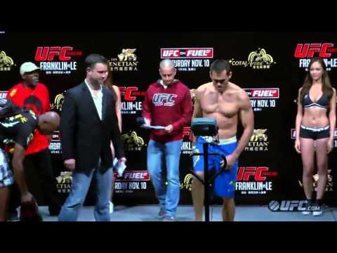 UFC Macao: Weigh-In Highlights