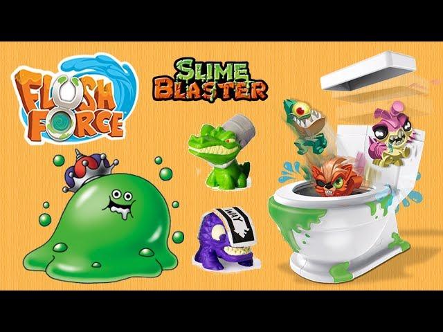 Flush Force • Slime Blaster • Obrzydliwy Slime w WC • bajka po polsku