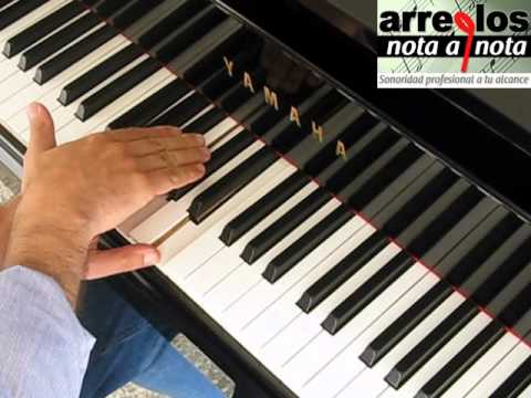 Jazz Piano - Arreglo musical - Parte 1