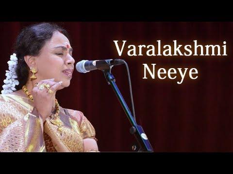 Varalakshmi Neeye - Sudha Raghunathan Live - Isai Ragam