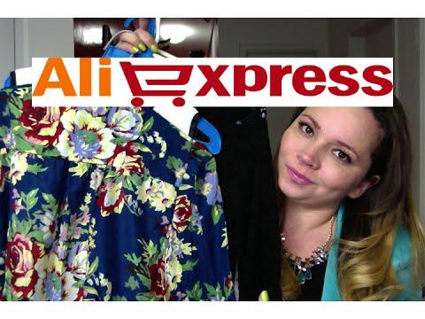 Compras no Aliexpress BLUSAS Dicas e Links  #7