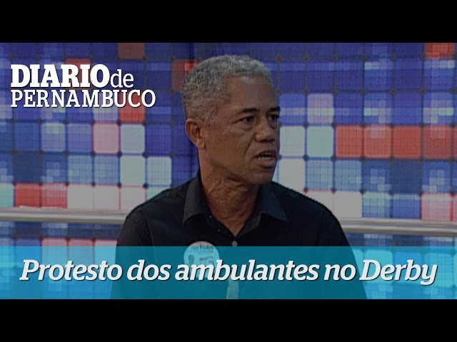 Candidato Jair Pedro, participa de entrevista no Jornal da Clube