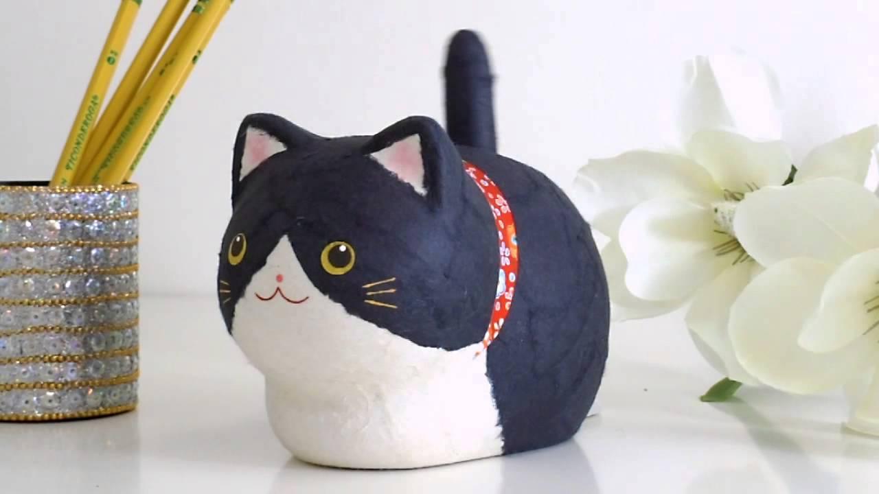 Как из бумаги сделать игрушку для кошки своими руками 39