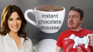Nigella Lawson Instant Chocolate mousse | MVK tries #5