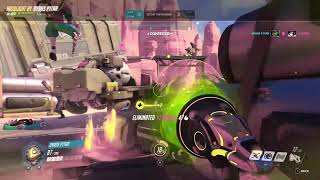 DP Overwatch Highlight Lucio Route 66 with Team DitaRulez (01-20-19 S - SR 1432)