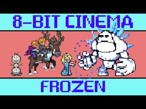 Frozen - 8 Bit Cinema