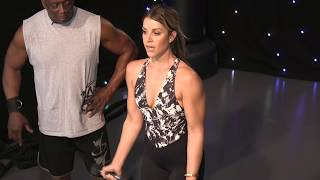 Billy Blanks Tae Bo® 1 on 1 with Melina!