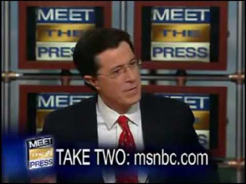 Colbert humors, annoys congressmen